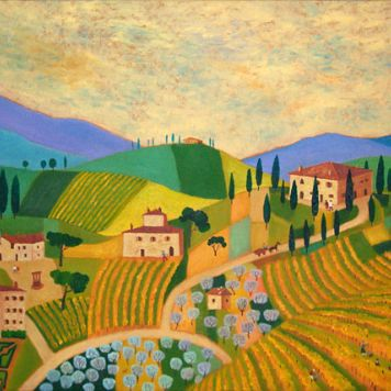 Vineyards near San Gimignano