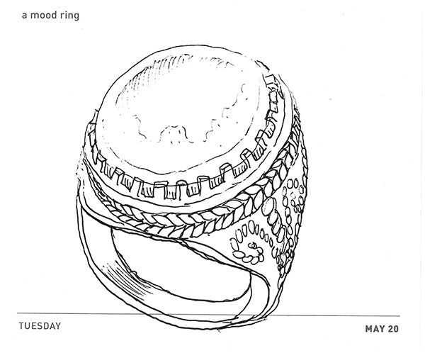 Viking Mood Ring