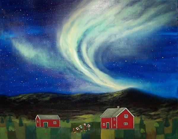 The Aurora Borealis Symphony
