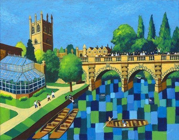 May Day Celebrations, Magdalene Bridge, Oxford