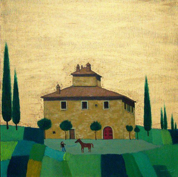 Villa Near Fonterutoli, Tuscany