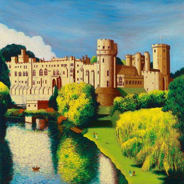 Warwick Castle Early Autumn